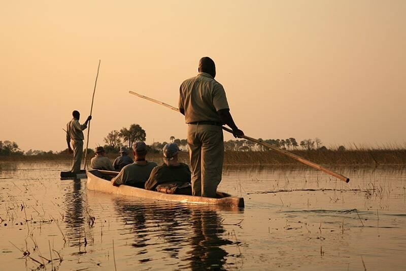 Mokoro Boat Ride in Botswana