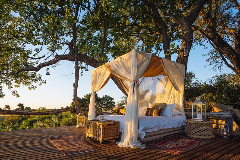 Botswana Top Luxury Safari Lodges - Joa Camp.